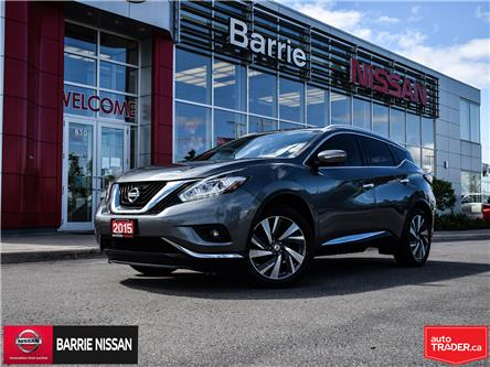 2015 Nissan Murano Platinum (Stk: P4691) in Barrie - Image 1 of 30