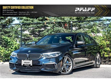 2018 BMW M550i xDrive (Stk: O13189) in Markham - Image 1 of 22