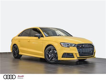 2019 Audi S3 2.0T Technik (Stk: PA707) in Ottawa - Image 1 of 20