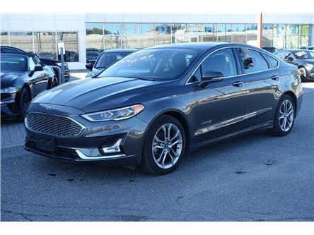2019 Ford Fusion Hybrid Titanium (Stk: 952840) in Ottawa - Image 1 of 13