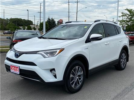 2018 Toyota RAV4 Hybrid LE+ (Stk: W5094) in Cobourg - Image 1 of 28