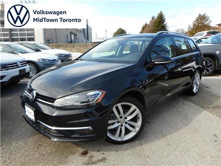 2019 Volkswagen Golf SportWagen 1.8 TSI Execline (Stk: W0754) in Toronto - Image 1 of 24