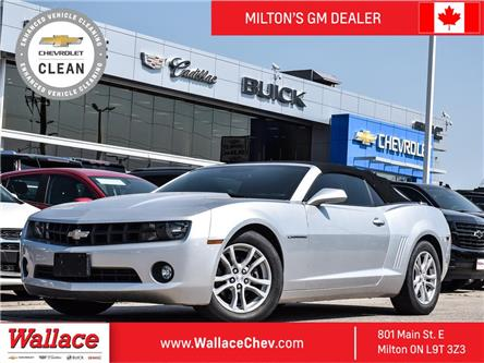 2013 Chevrolet Camaro 1LT AUTO, HEATED SEATS, BU CAM, RMT Start (Stk: 186830A) in Milton - Image 1 of 20