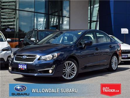 2016 Subaru Impreza 4dr Sdn CVT 2.0i w-Sport Pkg >>No accident<< (Stk: P3242) in Toronto - Image 1 of 24