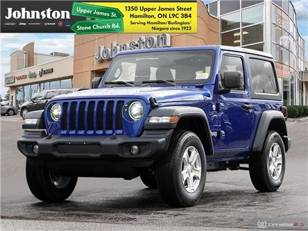 2020 Jeep Wrangler Sport (Stk: L1186) in Hamilton - Image 1 of 29