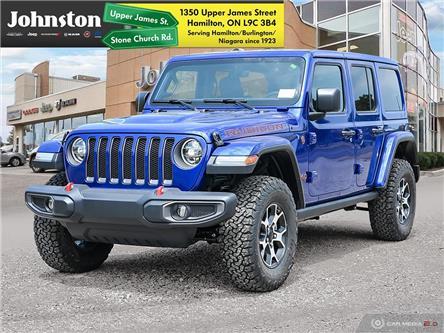 2020 Jeep Wrangler Unlimited Rubicon (Stk: L1208) in Hamilton - Image 1 of 26