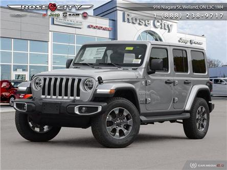 2020 Jeep Wrangler Unlimited Sahara (Stk: L2051) in Welland - Image 1 of 27