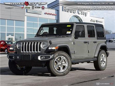 2020 Jeep Wrangler Unlimited Sahara (Stk: L2102) in Welland - Image 1 of 27