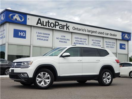 2018 Volkswagen Atlas 3.6 FSI Highline (Stk: 18-72105) in Brampton - Image 1 of 28