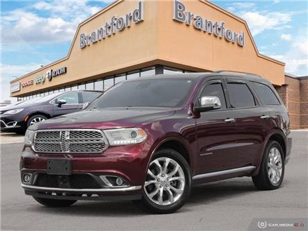 2016 Dodge Durango Citadel (Stk: T8602A) in Brantford - Image 1 of 27
