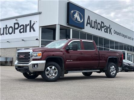 2017 GMC Sierra 2500HD SLE (Stk: ) in Barrie - Image 1 of 26