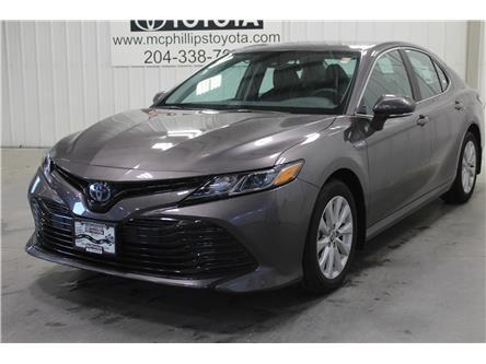 2020 Toyota Camry Hybrid LE (Stk: U014599) in Winnipeg - Image 1 of 19