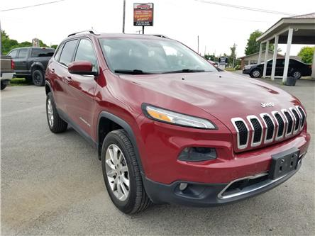 2014 Jeep Cherokee Limited (Stk: ) in Kemptville - Image 1 of 20