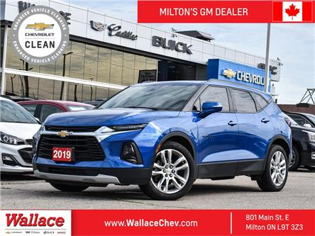 2019 Chevrolet Blazer 3LT | AWD | NAVI | 360 CAM | PANO ROOF | LEATHER (Stk: PR5153A) in Milton - Image 1 of 26