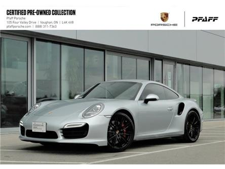2014 Porsche 911 Turbo Coupe PDK (Stk: U8155) in Vaughan - Image 1 of 19
