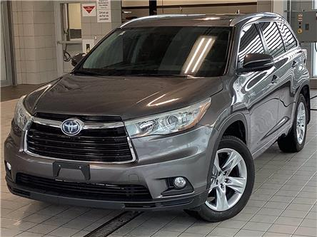 2014 Toyota Highlander Hybrid Limited (Stk: 22363A) in Kingston - Image 1 of 30