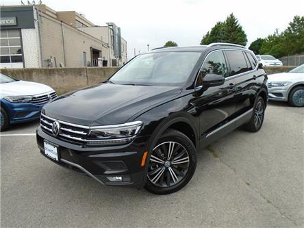 2020 Volkswagen Tiguan Highline (Stk: W1389) in Toronto - Image 1 of 11