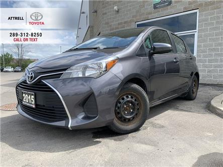 2015 Toyota Yaris LE B PKG POWER GROUP, CRUISE, ABS, BLUETOOTH, KEYL (Stk: 47515A) in Brampton - Image 1 of 19