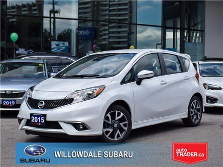 2015 Nissan Versa Note 5dr HB Auto 1.6 SR >>No accident+Low mileage<< (Stk: 16850A) in Toronto - Image 1 of 23