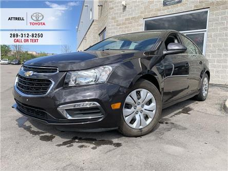2015 Chevrolet Cruze 1LT BLUETOOTH, BACK UP CAMERA, STEERING WHEEL CONT (Stk: 47612A) in Brampton - Image 1 of 22