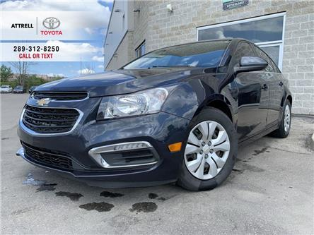 2016 Chevrolet Cruze Limited BACK UP CAMERA, BLUETOOTH, TINTED WINDOWS, ABS, CR (Stk: 47465A) in Brampton - Image 1 of 22