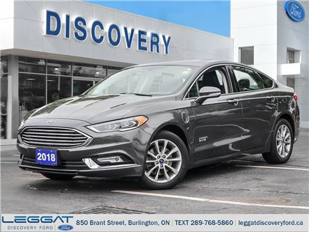 2018 Ford Fusion Energi  (Stk: 18-30107-L) in Burlington - Image 1 of 27