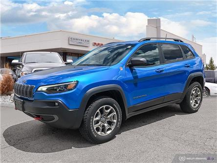 2020 Jeep Cherokee Trailhawk (Stk: 98387) in London - Image 1 of 25