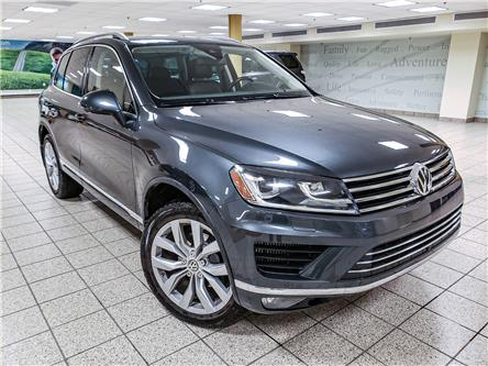 2015 Volkswagen Touareg 3.0 TDI Execline (Stk: 200622A) in Calgary - Image 1 of 11
