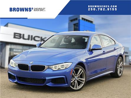 2015 BMW 435i xDrive Gran Coupe (Stk: 4500AA) in Dawson Creek - Image 1 of 15