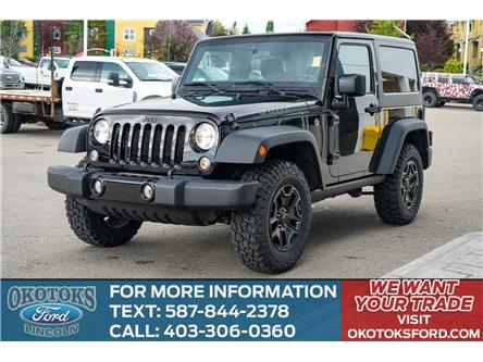 2017 Jeep Wrangler Sport (Stk: B81674) in Okotoks - Image 1 of 23