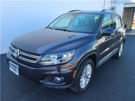 2016 Volkswagen Tiguan Special Edition (Stk: VU1038) in Sarnia - Image 1 of 18