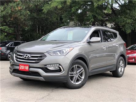 2018 Hyundai Santa Fe Sport Luxury |LEATHER |NAVIGATION | PANOROOF |AWD (Stk: 5695) in Stoney Creek - Image 1 of 22