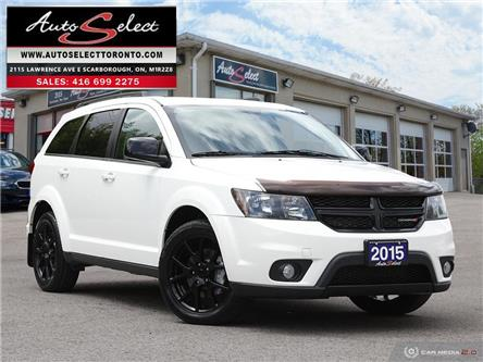 2015 Dodge Journey SXT (Stk: 1JDRW36) in Scarborough - Image 1 of 28