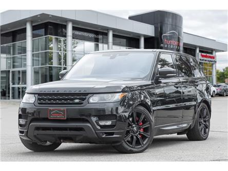 2017 Land Rover Range Rover Sport ATB|SUPERCHARGED|VENTED SEAT|MERIDIAN AUDIO|510 HP (Stk: 20HMS747) in Mississauga - Image 1 of 25