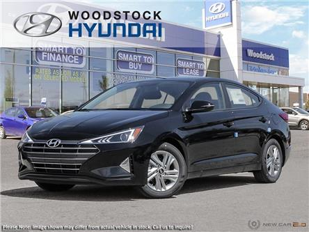 2020 Hyundai Elantra Preferred w/Sun & Safety Package (Stk: EA20063) in Woodstock - Image 1 of 23