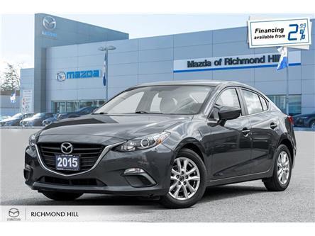 2015 Mazda Mazda3 GS (Stk: P0501) in Richmond Hill - Image 1 of 18