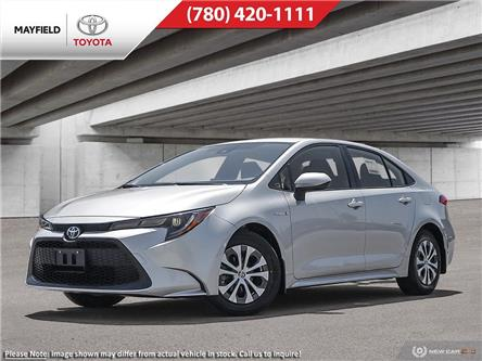 2021 Toyota Corolla Hybrid Base w/Li Battery (Stk: 210004) in Edmonton - Image 1 of 24