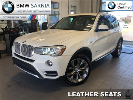 2017 BMW X3 xDrive 28i (Stk: XU300) in Sarnia - Image 1 of 16