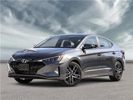 2020 Hyundai Elantra Sport (Stk: 21989) in Aurora - Image 1 of 22