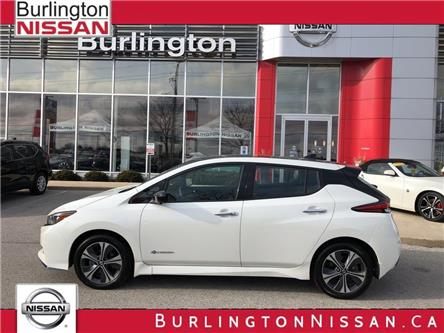 2019 Nissan LEAF SL PLUS (Stk: A6913) in Burlington - Image 1 of 17