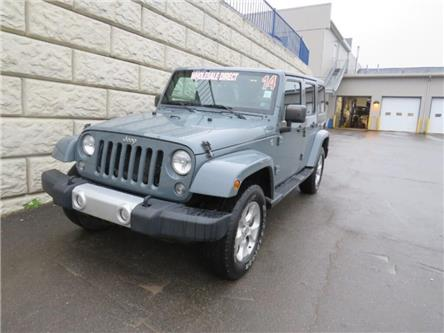 2014 Jeep Wrangler Unlimited Sahara (Stk: D00711PA) in Fredericton - Image 1 of 16
