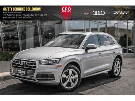2018 Audi Q5 2.0T Progressiv (Stk: C7598) in Vaughan - Image 1 of 21