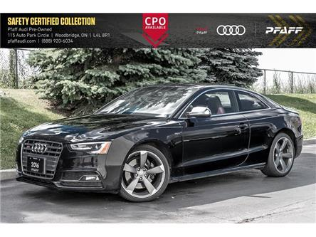 2016 Audi S5 3.0T Technik plus (Stk: C7729) in Woodbridge - Image 1 of 22