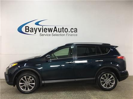 2018 Toyota RAV4 Hybrid Limited (Stk: 36840W) in Belleville - Image 1 of 25