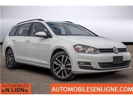 2016 Volkswagen Golf Sportwagon 1.8 TSI Comfortline (Stk: 505914) in Trois Rivieres - Image 1 of 33