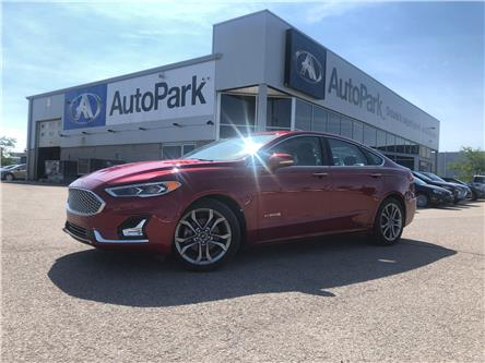 2019 Ford Fusion Hybrid Titanium (Stk: 19-27573RMB) in Barrie - Image 1 of 25