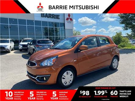 2020 Mitsubishi Mirage ES (Stk: L0088) in Barrie - Image 1 of 12
