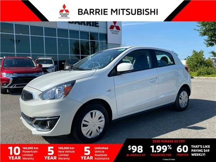 2020 Mitsubishi Mirage ES (Stk: L0135) in Barrie - Image 1 of 14