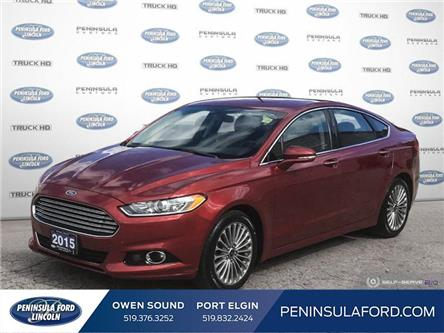 2015 Ford Fusion Titanium (Stk: 20ES60A) in Owen Sound - Image 1 of 25