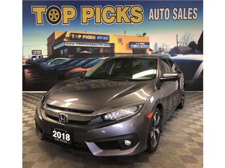 2018 Honda Civic Touring (Stk: 101275) in NORTH BAY - Image 1 of 27